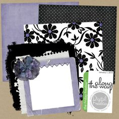 Along the Way - Digital Scrapbooking Freebie