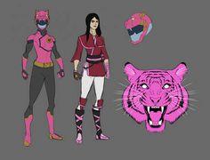 Go Go Power Rangers, Fantasy Fiction, Detailed Image, Martial Arts, Zodiac, Deviantart, Superhero, Artist, Pink