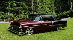 1955 Chevrolet Bel Air 489 CI, 5-Speed presented as lot S61 at Dallas, TX
