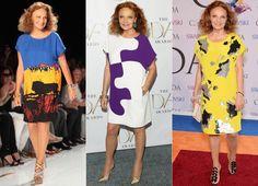 See 8 Fashion Designers in Their Signature Uniforms - Diane von Furstenberg  - from InStyle.com