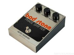 ELECTRO-HARMONIX BAD STONE v2 - Iconic mid-late 70s phaser guitar effect pedal; serviced and sounding great.