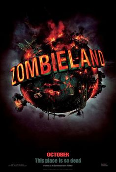 Zombieland (2009) by Ruben Fleischer ♥♥♥♡♡ A shy student trying to reach his family in Ohio, and a gun-toting tough guy trying to find the Last Twinkie and a pair of sisters trying to get to an amusement park join forces to travel across a zombie-filled America