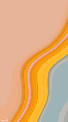 Orange and blue fluid patterned mobile phone wallpaper vector iphone and mobi. Orange and blue Whats Wallpaper, Handy Wallpaper, Orange Wallpaper, Iphone Background Wallpaper, Pastel Wallpaper, Aesthetic Iphone Wallpaper, Aesthetic Wallpapers, 4k Wallpaper For Mobile, Apple Wallpaper