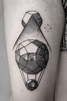 Andrey Svetov #Geometric #tattoo.
