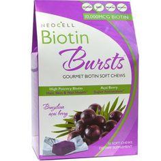 Neocell Laboratories Biotin Bursts Chewable Acai Berry (1x30 Count)