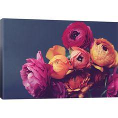 Found it at Joss & Main - Deep Blooms Canvas Print