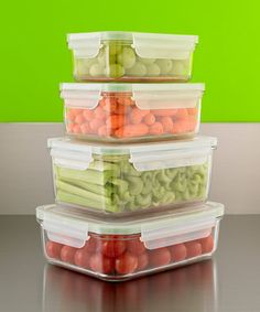 food storage tips from The Container Store.