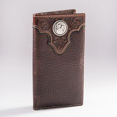 Concho Rodeo Wallet/Checkbook Cover - Accessories - National Cowboy Museum