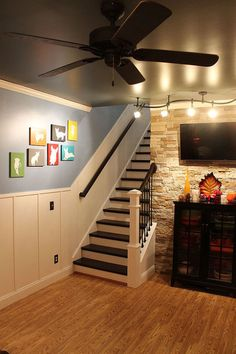 Hometalk :: Board And Batten Remodeled Staircase