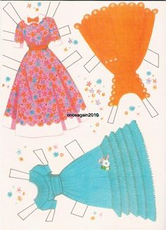 "Disney Presents Hayley Mills in ""Summer Magic"" Paper Dolls (6 of 10), 1963 Whitman #1966"