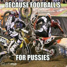 motocross requires big balls !!!!