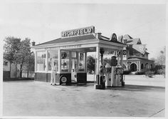 wow this is so cool ~Pomona~ SE corner of Holt and Palomares (1927) by 47specialdeluxe, via Flickr