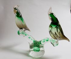 Murano Glass Sculptures and Prices | Murano Glass Parrot Sculpture image 8