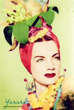 Carmen Miranda  A portuguesinha de olhos verdes