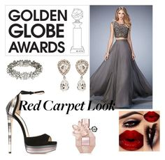 """Special night"" by bad-wolf-18 ❤ liked on Polyvore featuring Jimmy Choo, Ben-Amun, Dolce&Gabbana, Viktor & Rolf and GoldenGlobes"