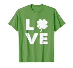 Patrick's Day Gift is a beautiful St.Patrick's costume for men, women, mama, daddy and friends who love Irish clover shamrock and St. A meaningful gift for people to have a wonderful Irish Patrick's Parties. Happy Patrick Day, Love T Shirt, Meaningful Gifts, Branded T Shirts, Fashion Brands, Irish, Daddy, Parties, Costume