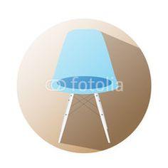 Chair icon supermarket #button #fotolia #design #concept #tool #cart #shop #online #services #icon #vector #business