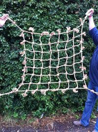 Parrot Play - Hemp Rope and Cargo Nets