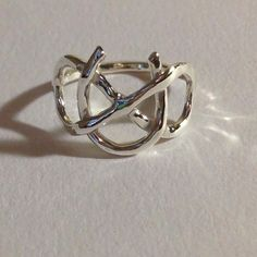 Hey, I found this really awesome Etsy listing at https://www.etsy.com/listing/195403501/infinity-symbol-ring-sterling-silver