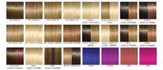 Welche Haarfarbe passt zu mir, Farbpalette mit Braun-, Blond- und Rotnuancen