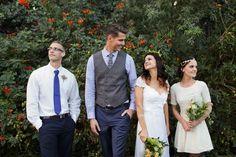 Liza-Maree and Shaun's real wedding