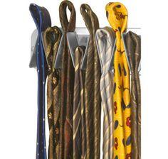 The Tie Rack Has A Simple, But Unique Design. The Clever Arrangement Of The