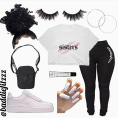Boujee Outfits, Swag Outfits For Girls, Cute Teen Outfits, Cute Outfits For School, Teenage Girl Outfits, Teenager Outfits, Dope Outfits, Teen Fashion Outfits, Stylish Outfits