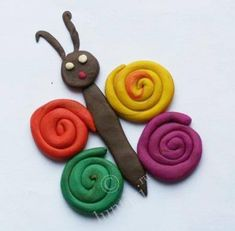 Trendy Baby Animals Crafts For Toddlers Learning Ideas Clay Projects For Kids, Clay Crafts For Kids, Kids Clay, Summer Crafts For Kids, Toddler Crafts, Preschool Crafts, Diy For Kids, Clay Activity, Playdough Activities
