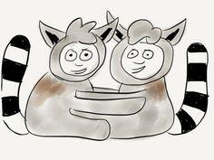 conjoined twin lemur babies
