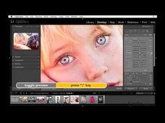 Lightroom 5 tutorial: Improving the eyes   lynda.com - YouTube