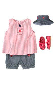Chambray Darling Spring Outfit