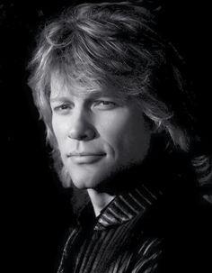 Jon Bon Jovi in black-and-white♫♫♥♥♫♫♥JML