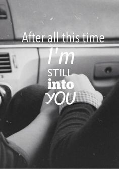 """Still Into You,"" Paramore lyrics"