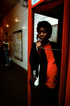 Bruce Davidson - New York City. 1980. Subway