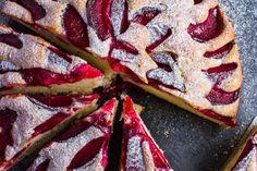 Meggyel, szilvával és cseresznyével is készítettem már és mindig fenséges volt! Pound Cake, Vegetable Pizza, French Toast, Muffin, Cooking Recipes, Sweets, Bread, Cookies, Breakfast