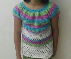 Crochet cluster stitch