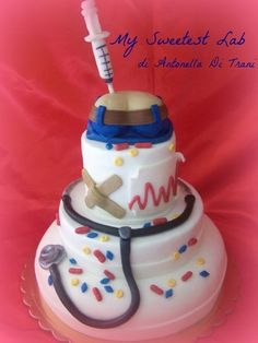 Doctor cake !  @Rosa Isela Krause Robert's graduation
