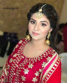 Designer Punjabi Suits Patiala, Indian Designer Suits, Salwar Suits, Punjabi Hairstyles, Engagement Suits, Sikh Bride, Lehenga Style, Formal Dresses For Weddings, Embroidery Dress