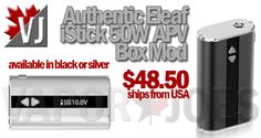 IN STOCK! – Eleaf iStick 50W ships from USA – $48.50