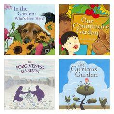 Great Gardening Books for Kids - veľmi inšpiratívne názvy kníh !!!