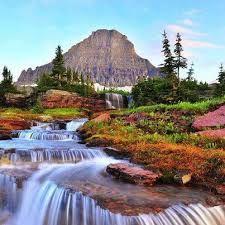 image result for beautiful flower gardens waterfalls love of gardens pinterest garden waterfall beautiful flowers garden and beautiful flowers - Beautiful Flower Gardens Waterfalls