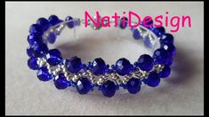 Beautiful and elegant bracelet to give mother& day. Beaded Bracelets Tutorial, Beaded Bracelet Patterns, Woven Bracelets, Handmade Bracelets, Handmade Jewelry, Jewelry Making Beads, Cute Jewelry, Jewelry Crafts, Gemstone Jewelry
