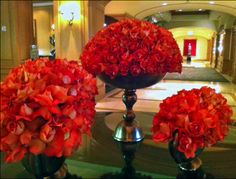 @Four Seasons Hotel Las Vegas, bursting with gorgeous roses!