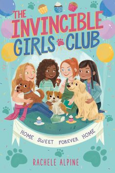 Lauren and her three BFFs find creative ways to help shelter dogs get adopted in this first installment of the relatable and empowering The Invincible Girls Club chapter book series—featuring backmatter with profiles on real-life animal activists! New Books, Good Books, Books To Read, Library Books, Huge Dogs, Animal Activist, Friends Set, Chapter Books, Girls Club