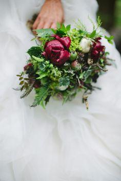 woodsy wedding bouquet from Rosemary Stafford // photo by AshleyForrette.com