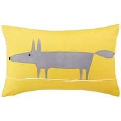❤❤❤ Copyrights unknown. Scion Mr Fox cushion by John Lewis | Woodland design ideas | Design | Trend | Housetohome.co.uk