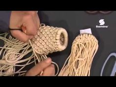 كيفية عمل حامل الولاعة من الماكرامي - الجزء 1 - - YouTube