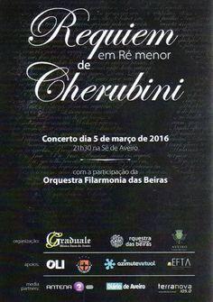 LITORAL CENTRO - COMUNICAÇÃO E IMAGEM: Concerto - Requiem em Ré menor de Luigi Cherubini ...
