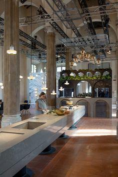 EARTH - a conceptual kitchen by Caesarstone x Tom Dixon