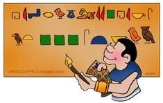Hieroglyphics, Rosetta Stone - Ancient Egypt for Kids
